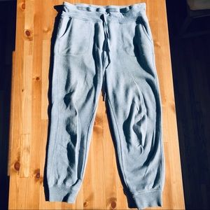 Calvin Klein Blue-Grey Logo Sweatpants